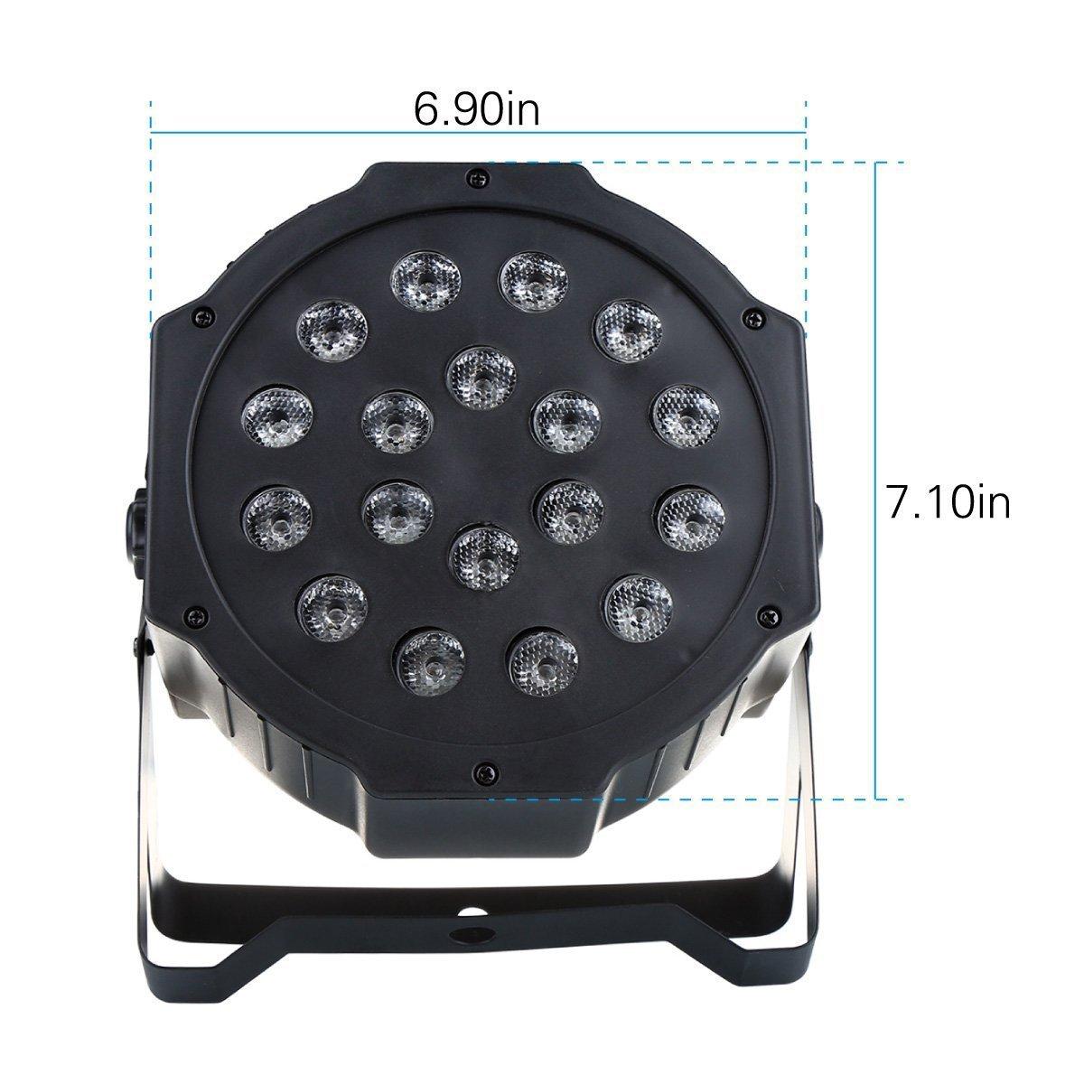 PAR LED Scheinwerfer sehr deutlich im Preis gefallen - Bestseller #1 (Amazon mit Prime)