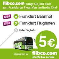Fernbus Frankfurt-Frankfurt/Hahn-Trier-Luxemburg ab 5 Euro