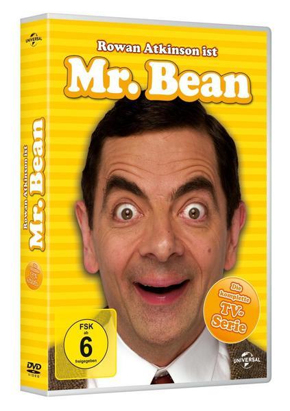 Mr. Bean - Die komplette TV-Serie (3 DVDs) für 8,19€ inkl. Versand [Thalia]