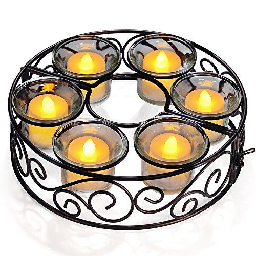 amazon - Kerzenständer  - 50% runter für einen romatischen Abend