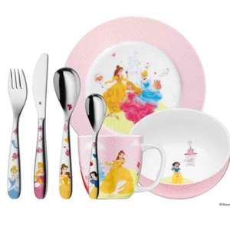 Disney Kinderset 7-teilig princess für 24,95€ anstatt 49,95€