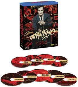 Tarantino XX: 20 Years of Filmmaking (9 Blurays) für 39,99€ [Thalia]
