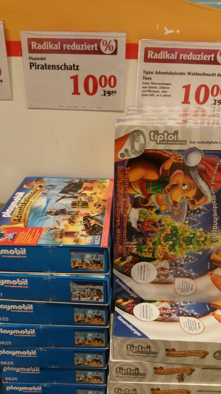[ Local ] Globus Völklingen - Adventskalender (z. B. Playmobil, Schleich, Hotweels usw.)