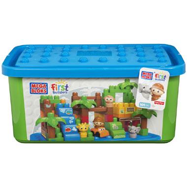 Mattel Mega Bloks First Builders - Großer Zoo / Safaripark für 23,99€ bei [Intertoys] statt ca. 33€
