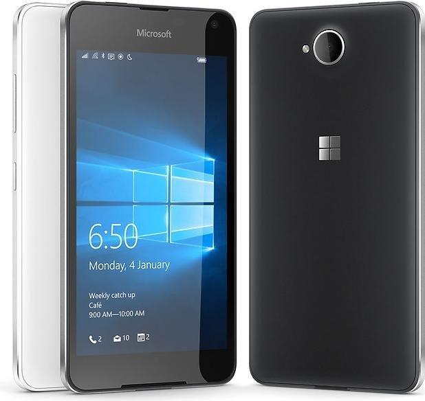 Lumia 650 LTE (5'' HD Amoled, Snapdragon 212 Quadcore, 1GB RAM, 16GB intern, 8MP + 5MP Kamera, 2000mAh wechselbar, Windows 10 Mobile) für 94,21€ [Amazon]