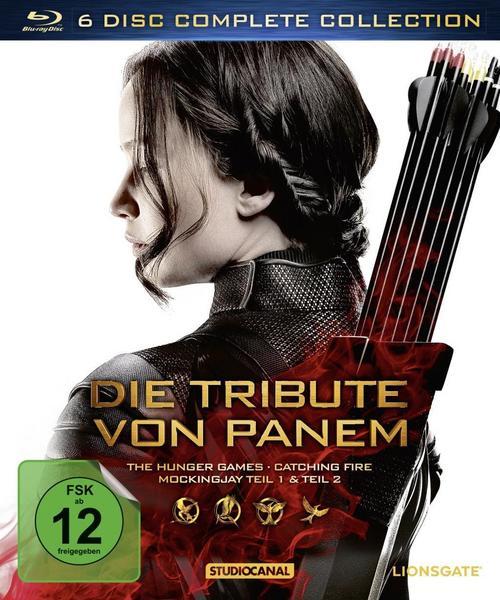 Thalia: Die Tribute von Panem - Complete Collection (BD) für 27,99€ (durch 20% Gutschein) VGP: 34,94€