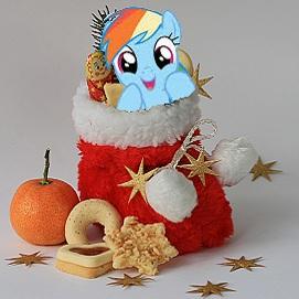 Kostenloses Nikolaustütchen für alle Kinder (Lokal: Weihnachtsmarkt Dorsten, NRW / Freitag 02.12.2016)