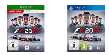F1 2016 (Playstation 4 und Xbox One) für je 39,-€ Versandkostenfrei [Mediamarkt GDD]
