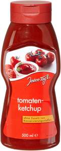 [Amazon Plus] Jeden Tag Tomatenketchup PET, 4er Pack (4 x 500 ml) für 1,19€