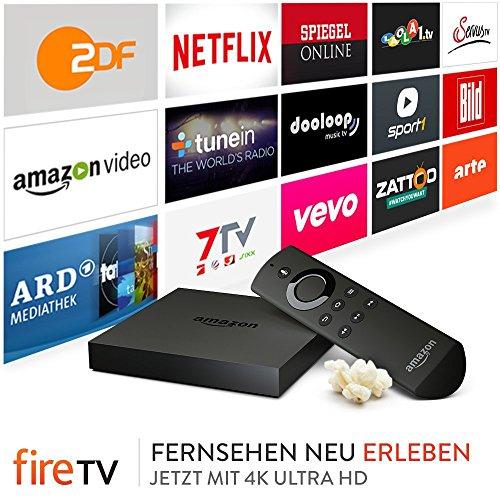 Amazon Fire TV Box - Generalüberholt und durch Amazon zertifiziert