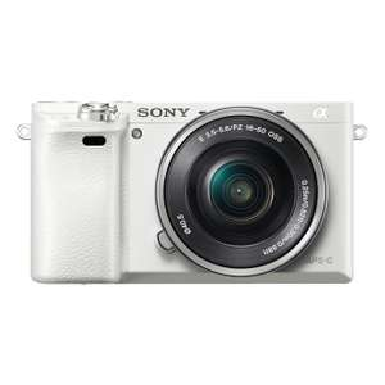 Sony Alpha 6000 Systemkamera [24,3 MP APS-C, inkl. SEL-P1650 Objektiv, weiß] für 531,56€ @ Amazon.fr