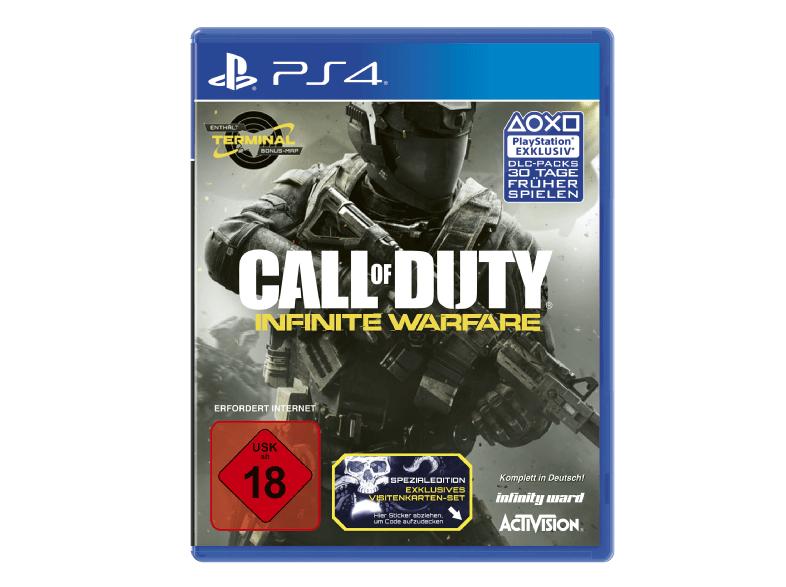 Call of Duty: Infinite Warfare Standard Edition für PS4/XBox One für 36,99€ bei Saturn.de mit Filiallieferung