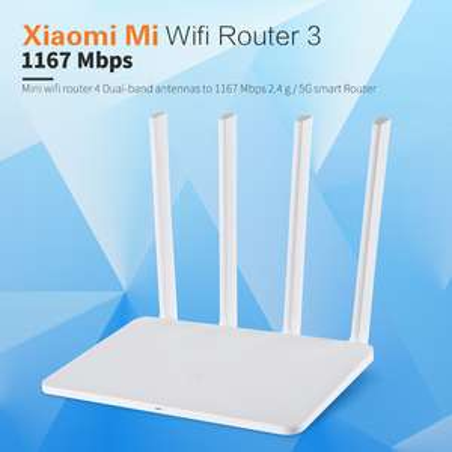 [Aliexpress] Xiaomi Mi WiFi Router 3 AC 1167Mbps + sehr hohe WLAN Reichweite für € 28,97  inkl. versand an. + EU Plug adapter