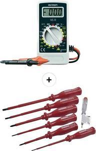 Sparset: Hand-Multimeter + VDE-Schraubendreher-Satz 7-teilig bei eBay