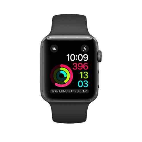 Apple Watch Series 1 38mm refurbished Black Aluminium