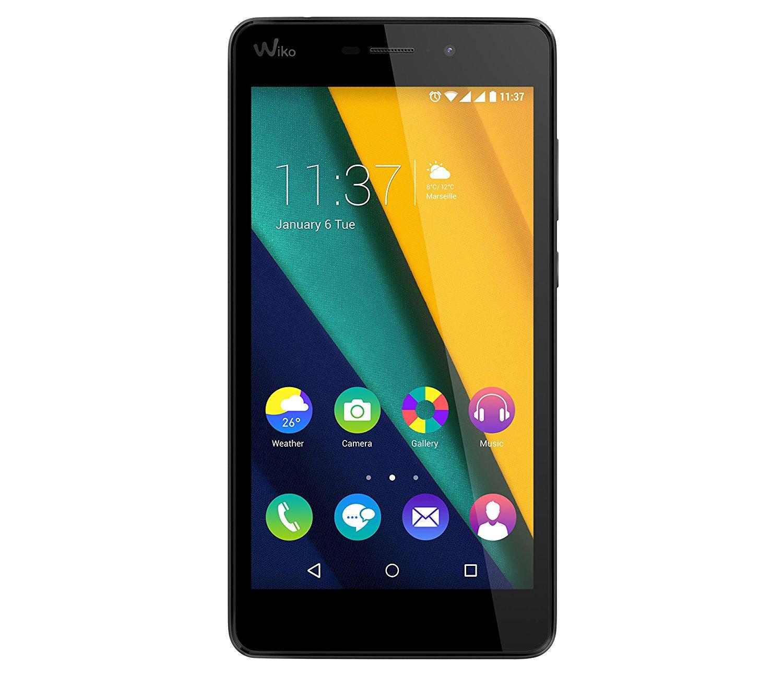 [csv-direct] Wiko 9578 Pulp Fab 4G LTE Smartphone (13,9 cm (5,5 Zoll) HD IPS-Display, 1,2 GHz Quad-Core-Prozessor, 16GB interner Speicher, 2GB RAM, Android 5.1 Lollipop) schokoladen braun