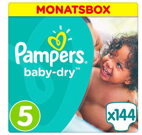 20% Rabatt ab 90€ bei [windeln.de] anwendbar auf Pampers, z.B. 3 Monatspackungen Baby Dry Gr. 5 für 73,39€ = knapp 17 Cent pro Windel