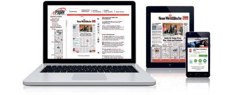Heute: Kostenlos das NW-ePaper lesen statt der Zeitung