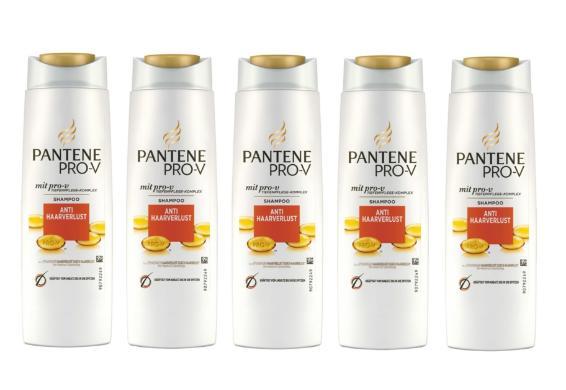 [@Dealclub] 5er-Pack Pantene Pro-V Shampoo Anti Haarverlust 300 ml