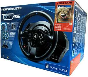 [Amazon] Thrustmaster TM T300 RS inkl. PS4 Game Sebastian Loeb Rally Evo (PC/PS3/PS4) Forcefeedback Lenkrad plus Pedale