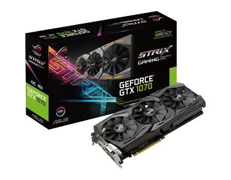 Nvidia Asus GTX 1070 ROG Strix OC - allyouneed