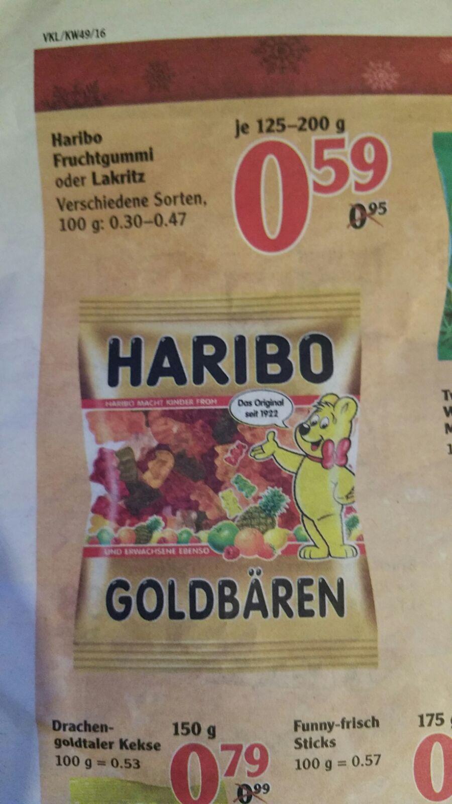 [ Local ] Globus Völklingen - Haribo 125-200 g für 0,59 Euro