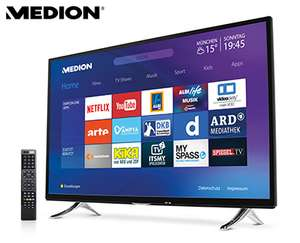 "55"" Ultra HD Smart-TV MEDION® LIFE® X18068 bei Aldi"