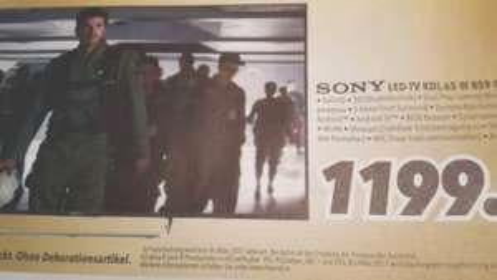 [Lokal] MediMax Wesel Sony KDL 65 W 859 C