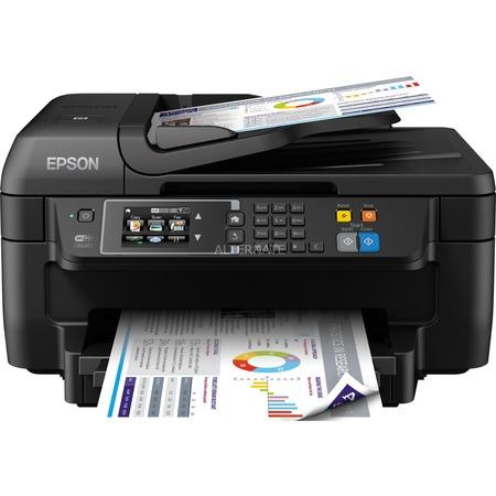 Epson WorkForce WF-2760DWF 4-in-1 Multifunktionsdrucker (drucken, scannen, kopieren, faxen) inkl. Duplex, Wireless Lan, Dokumenteneinzug für 69,90 € statt 85,97 € [ZackZack]