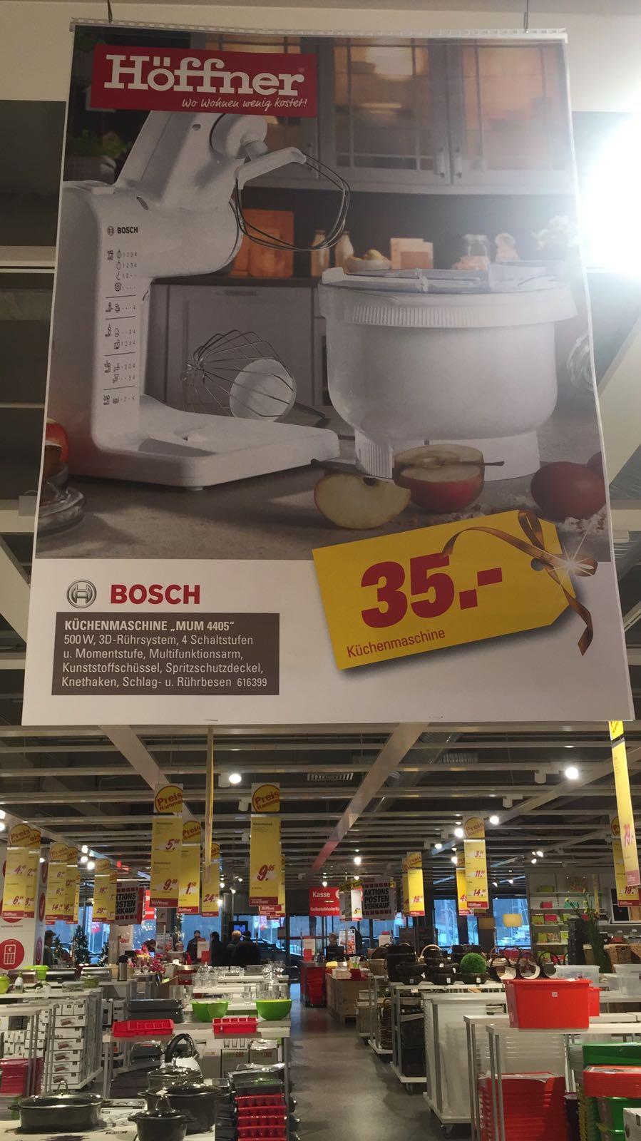 [Höffner] Bosch MUM4405 für 35€