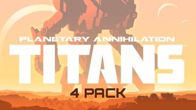 Planetary Annihilation Titans 4er Pack  (4,45 pro Spiel)
