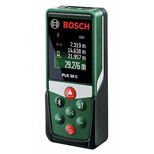 Bosch PLR 30 C Laserentfernungsmesser [30 Meter, Smartphone App] für 53,27€ @ Amazon.fr