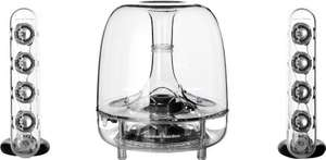 Harman/Kardon Soundsticks III LED Desktop Soundsystem bei AMAZON.FR für 108,09