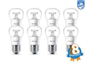 [ibood.com] 8x Philips LED-Leuchtmittel 4W E27 (Nächster Preis 38,90€)