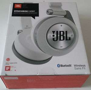 [ebay] Kopfhörer Bluetooth JBL Synchros E40BT Weiß Drahtlos- für Apple und Android