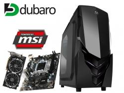 Gaming PC (Mid-Range: i5-6500, MSI B150M Pro-VD?, MSI GeForce GTX 1060 ARMOR 3G OCV1, 8GB RAM TB HDD, 600W Kolink Core KL-C600 für 599€, oder mit GTX 1060 6GB für 673,90€ - Dubaro)