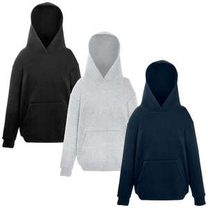 [ebay WOW] 3 Kapuzen-Hoodies von Fruit of the Loom