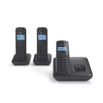 [Euronics] Telekom Sinus CA 34 Trio Schnurlostelefon mit Anrufbeantworter Basaltgrau