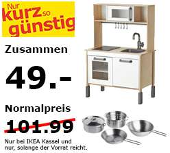 ikea kassel kinderk che duktig topfset f r 49 statt 101 99. Black Bedroom Furniture Sets. Home Design Ideas