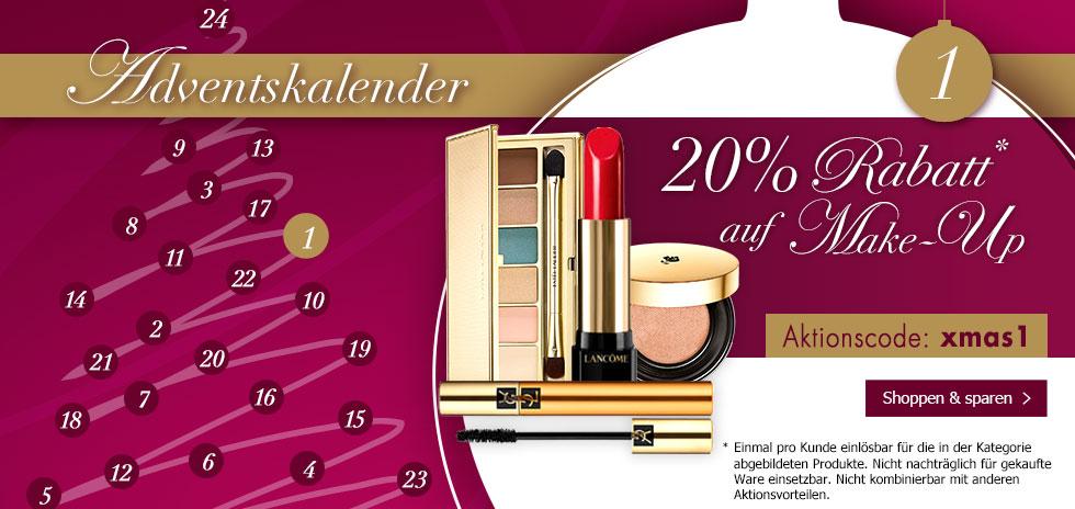 KARSTADT On- und Offline 20% auf Make Up