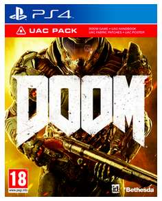 (Game.co.uk) Doom inkl. UAC Pack (PS4/Xbox One) für 19,24€