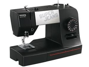 TOYOTA Super J15 Nähmaschine über 12 Lagen / nur 99,90€ / Ebay WoW