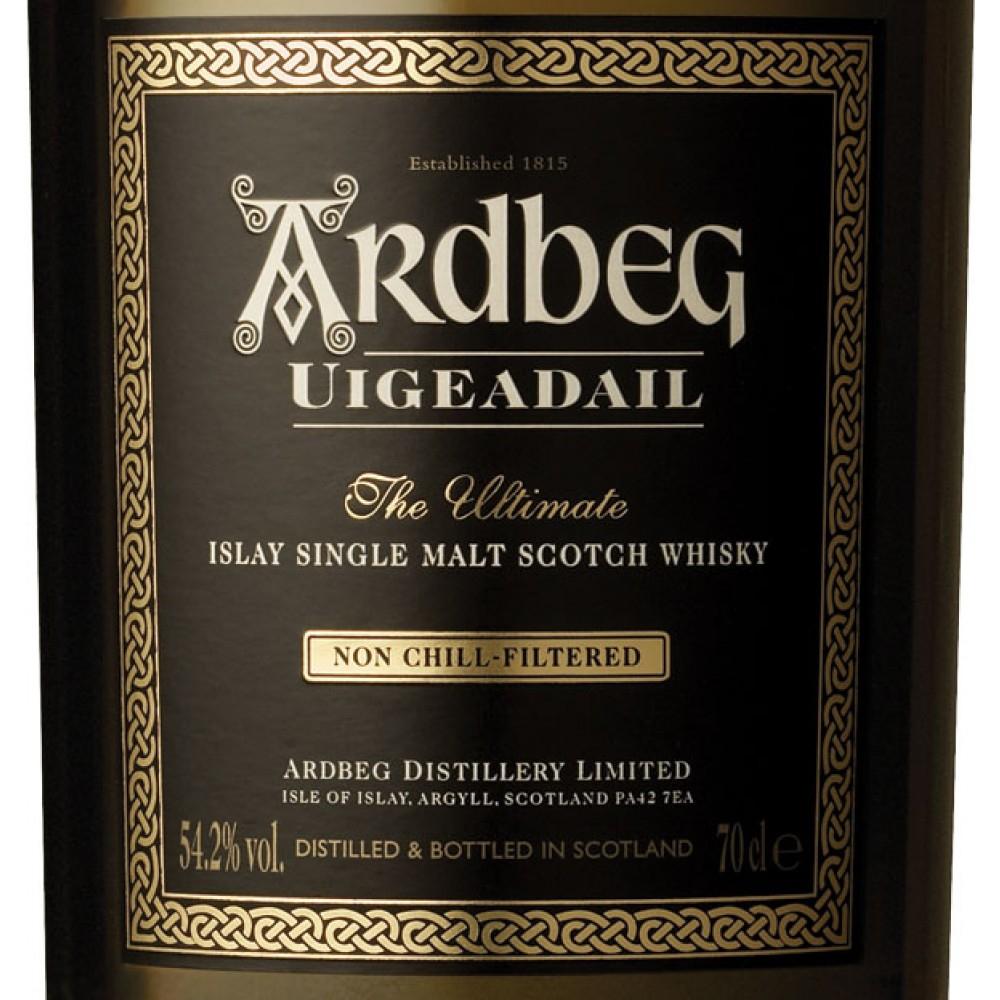 """Ardbeg Uigeadail Whisky (""""The Best Whisky In The World"""" - Whisky Bibel)"""