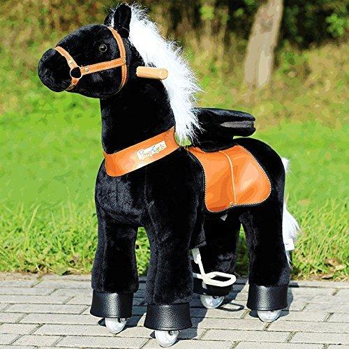 Ponycycle Black Beauty für 189€ + ggf. 5,95€ VSK - Rutschpferd für Mädels von 4 bis 9 Jahren