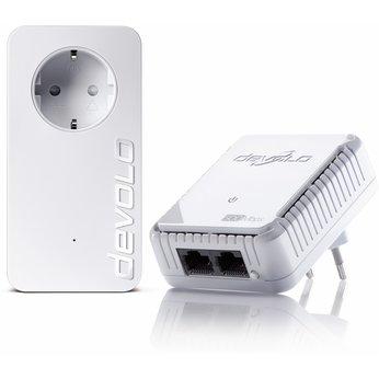 Devolo dLAN 500 Set+ Exklusivmodel für 39€ - 2 PowerLAN Adapter mit 500 Mbits, je zwei LAN Ports