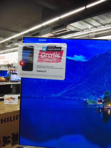 Samsung UE55KS7090 LED SUHD TV + Samsung Galaxy S7 - Media Markt Schweinfurt