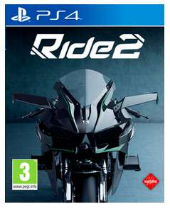 (Game.co.uk + Amazon.co.uk) Ride 2 (PS4/Xbox One) für 31€