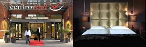5 Sterne Roomers Hotel in Frankfurt 85 Euro und 4 Sterne centrovital Hotel in Berlin 54,50 Euro pro Nacht im Doppelzimmer