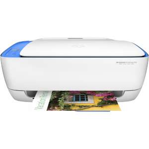 [Lokal Rhein Main Expert] HP Multifunktionsdrucker DESKJET 3638 ALL-IN-ONE 3-in-1 WLAN weiß-blau