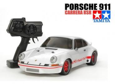Tamiya XB Pro Porsche 911 Carrera RSR White Edition TT-01E RTR (57874)
